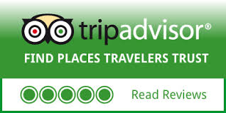 a trip advisor logo and review iimage