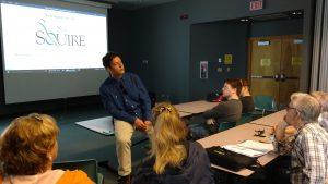 Derek Wilson teaching about Global Accessibility Awareness May 2016 in Kelowna